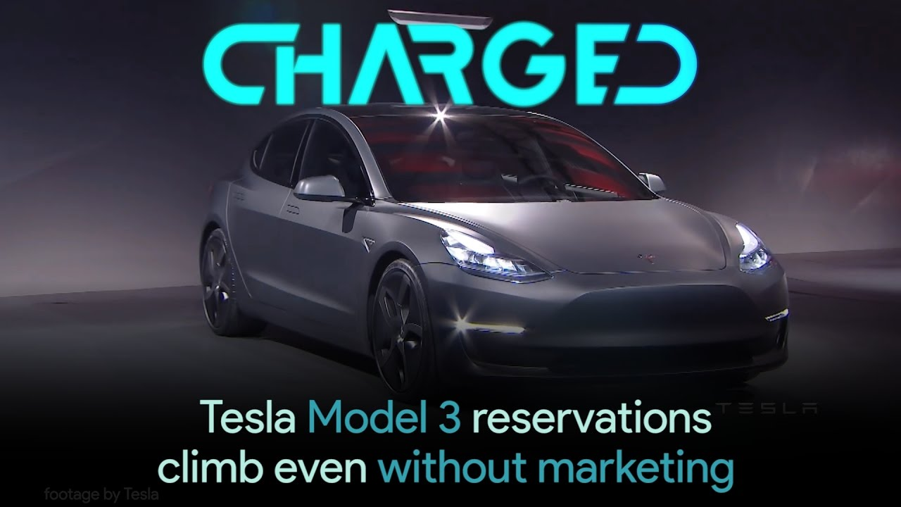 tesla model 3 reservation numbers continue to climb even with no marketing youtube. Black Bedroom Furniture Sets. Home Design Ideas