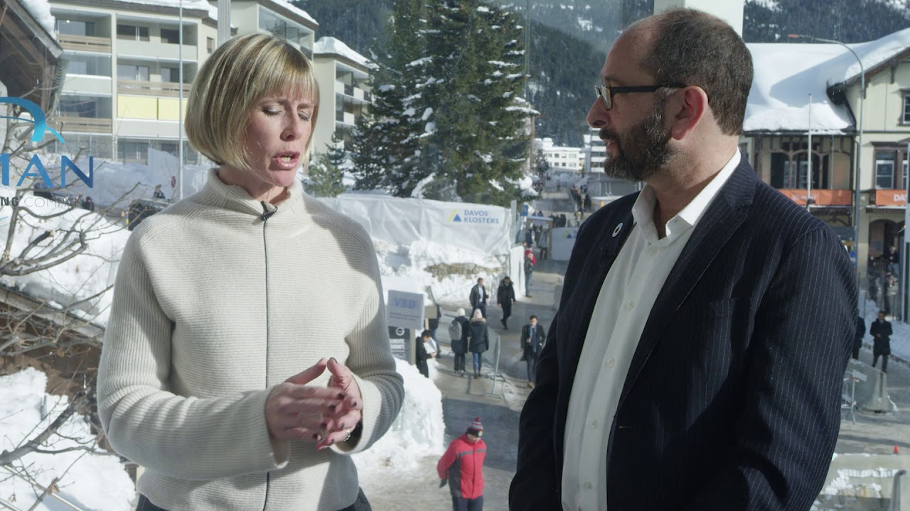 Hub Culture Davos 2019 - Aron Cramer, CEO of BSR
