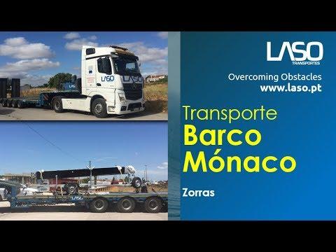 LASO TRANSPORTES SA   Zorras   Transporte de Barco para o Mónaco