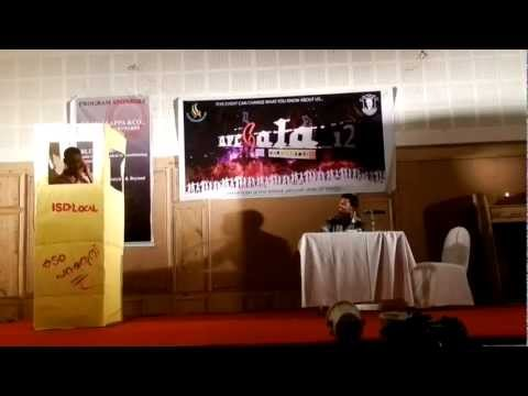Salem School Of Architecture - arGala 2012-STD Booth Comedy Skit