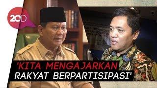 Prabowo Minta Ongkos Politik, Habiburokhman: Sama Kayak Trump