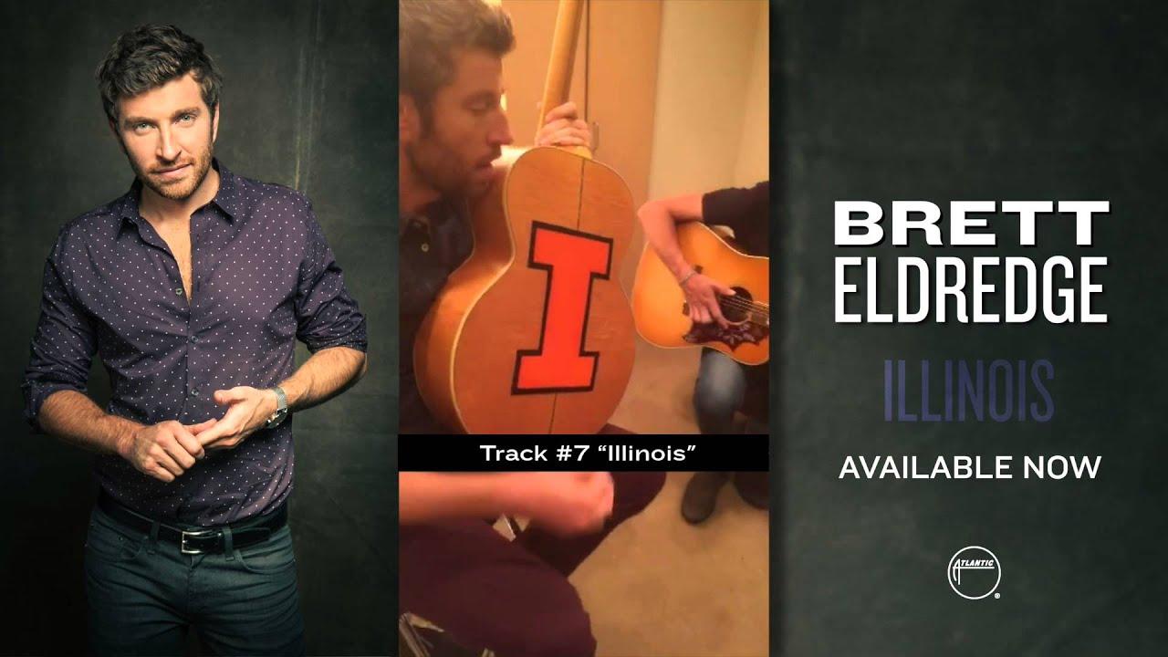 Brett Eldredge — Illinois Release Week Snap Story