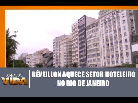 Réveillon aquece setor hoteleiro no Rio de Janeiro - Jornal da Vida 11/12/2017