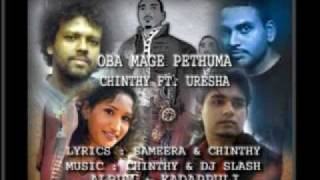 Chinthy ft Uresha & DJ Slash & Sameera -  Oba mage pethuma (Album Ver. )