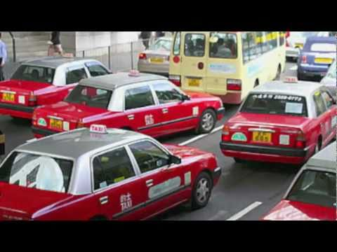 Soho (Hong Kong) Taxi ride