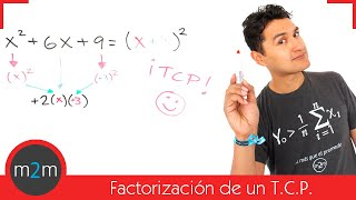 Factorización: Trinomio cuadrado perfecto (TCP)