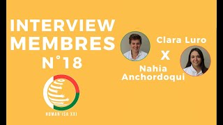 INTERVIEW MEMBRES N°18 : Clara & Nahia