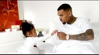Chris Brown's Daughter Royalty Steals Spotlight in Music Video