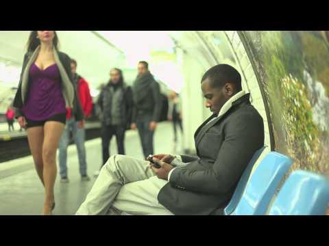 Qu'on arrête de faire chier les mecs dans le métro poster