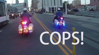MOTORCYCLE COPS Chase Motorcycles! POLICE CHASE