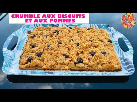 crumble-de-biscuits-aux-pommes-🍏