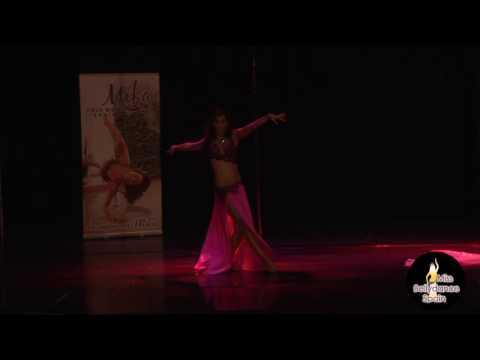 Sandra Lopez  -  Finalista Miss Belly Dance Spain 2016