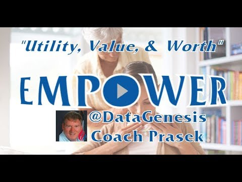 Utility, Value, and Worth | @DataGenesis