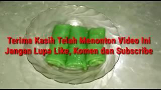 Cara Membuat Kue Dadar Gulung Isi Kelapa/Cangkuli Super Legit