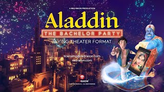 Trailer Aladdin – The Bachelor Party Flying...