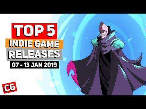 Top 5 Best Indie Game New Releases: 07-13 Jan 2019 (Upcoming Indie Games) Mp3