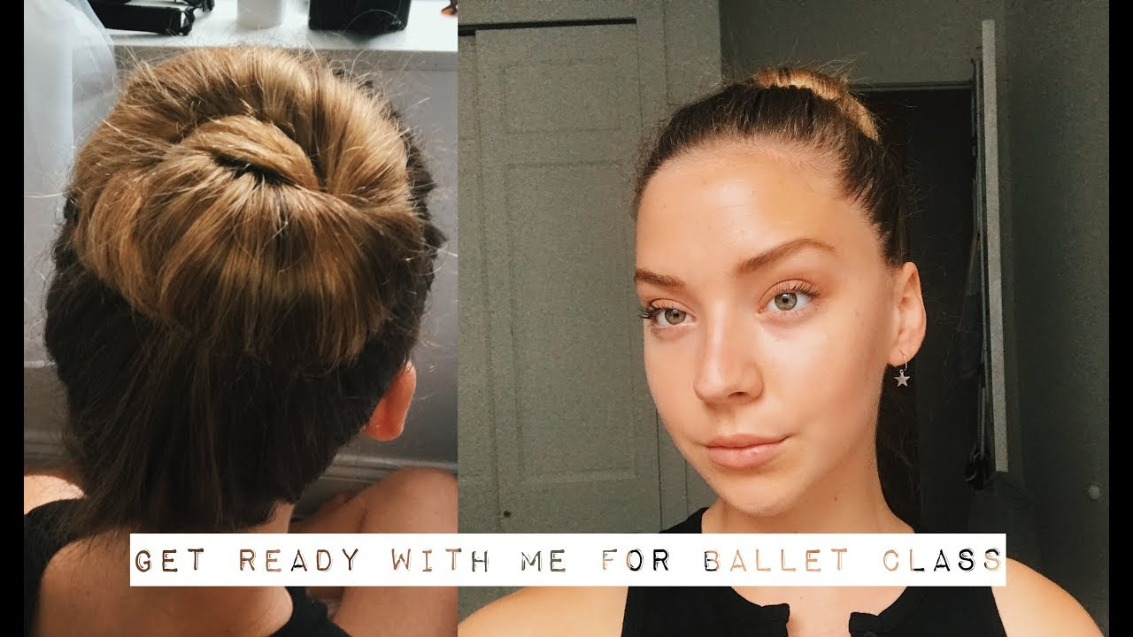 5046a75570014 Get Ready With Me For Ballet Class - YouTube