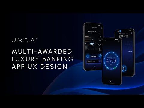 Light Bank App UX/UI Design Concept By UXDA