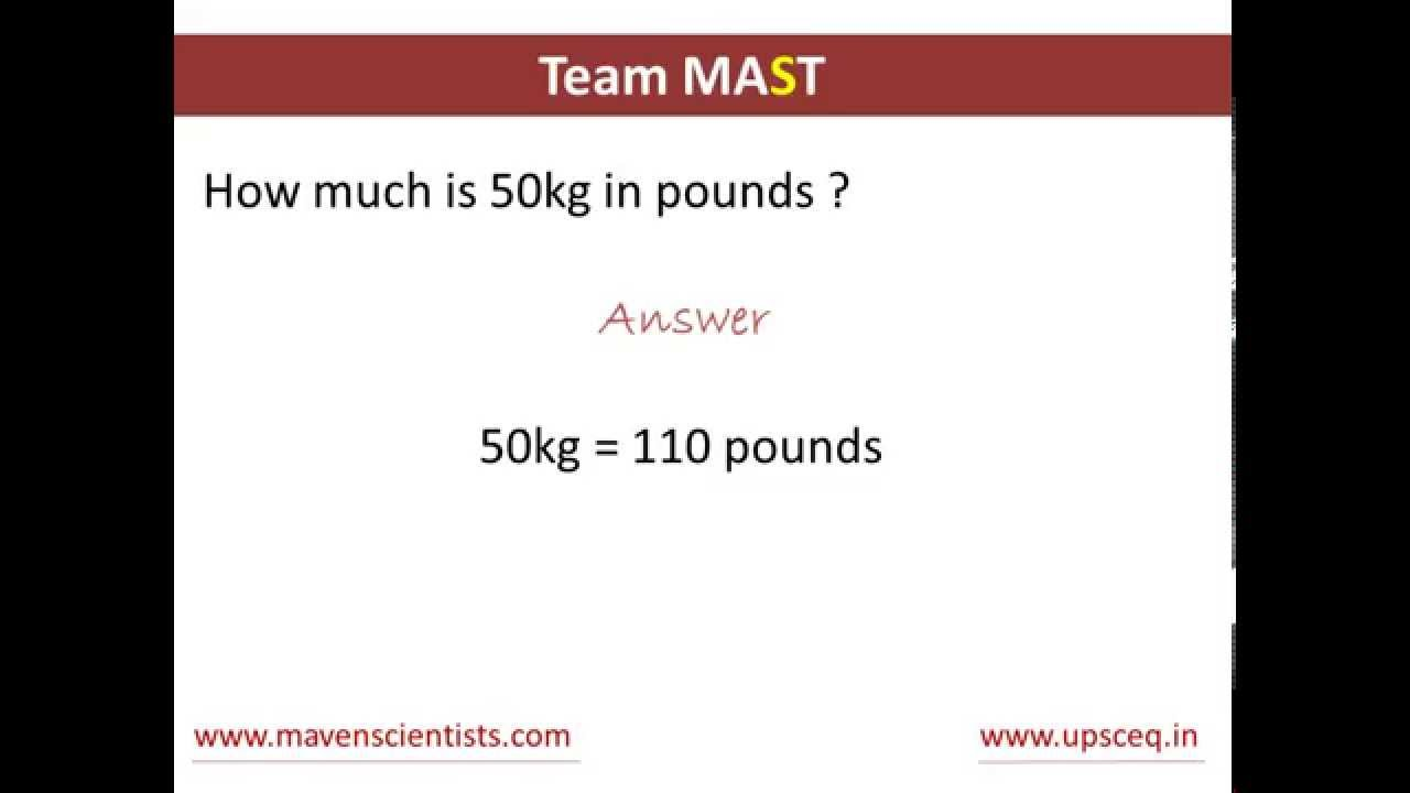 67.6 Kg To Lbs Cool how to convert kilograms to pounds | team mast - youtube