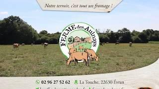 Ferme des Aulnays, producteur de fromages BIO en Bretagne