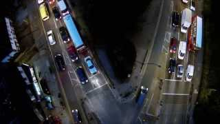 phantom 2 vision quadcopter night shots at figge s marsh