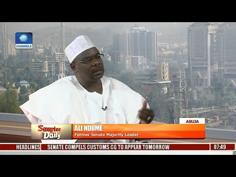 Senate Is Not The Right Place For Magu's Trial - Ali Ndume Pt 1