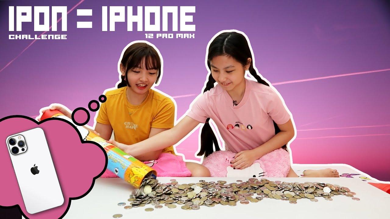 100000 THOUSAND IPHONE IPON CHALLENGE | Part 5 MYSTERY B-DAY IPON PARA MAG KA IPHONE | Aurea & Alexa