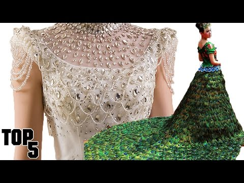 Top 5 Most Expensive Wedding Dresses