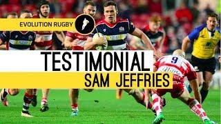 SAM JEFFRIES - Testimonial Evo Rugby Programme