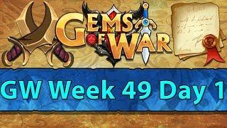 ⚔️ Gems of War Guild Wars | Week 49 Day 1 | Azura to Victory! ⚔️