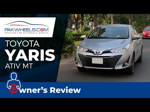 Toyota Yaris ATIV MT 1.3 2020 | Owner's Review | PakWheels