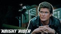 K.I.T.T warnt Michael in letzter Sekunde | Knight Rider Deutschland