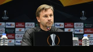 Пресс конференция после матча Трабзонспор Турция Краснодар Россия