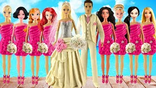 Play doh wedding dress disney princess Aurora Elsa Anna Moana Ariel Rapunzel princess play doh