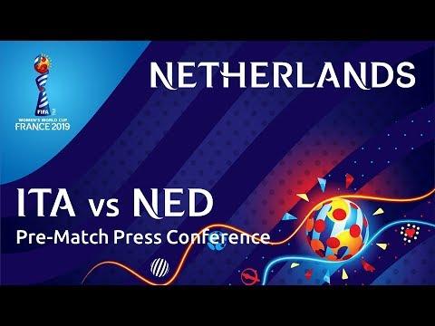 ITA v. NED - Netherlands Pre-Match Press Conference