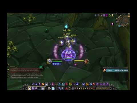 7.2.5 PTR Arcane mage | 15+ mil burst dps | Multi-target dps test