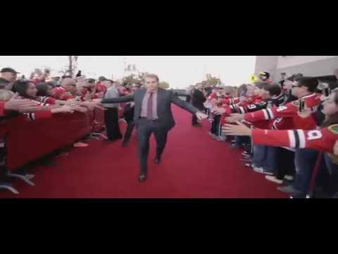 Chicago Blackhawks 2014-2015 Home Opener. Red Carpet Sights and Sounds (HD)