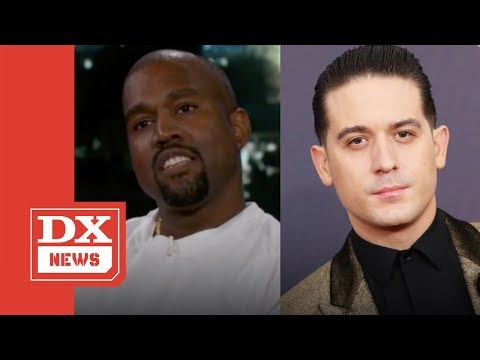 G-Eazy Wants Kanye West To Answer Jimmy Kimmel's Trump Question