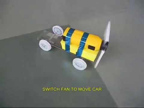How To Make A Simple Car Dc Motor Youtube