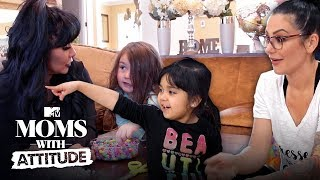 Snooki & JWoww Swap Kids for the Day | Moms with Attitude | MTV