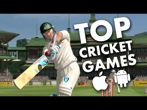 Top 10 Best Cricket Games For Android - IOS