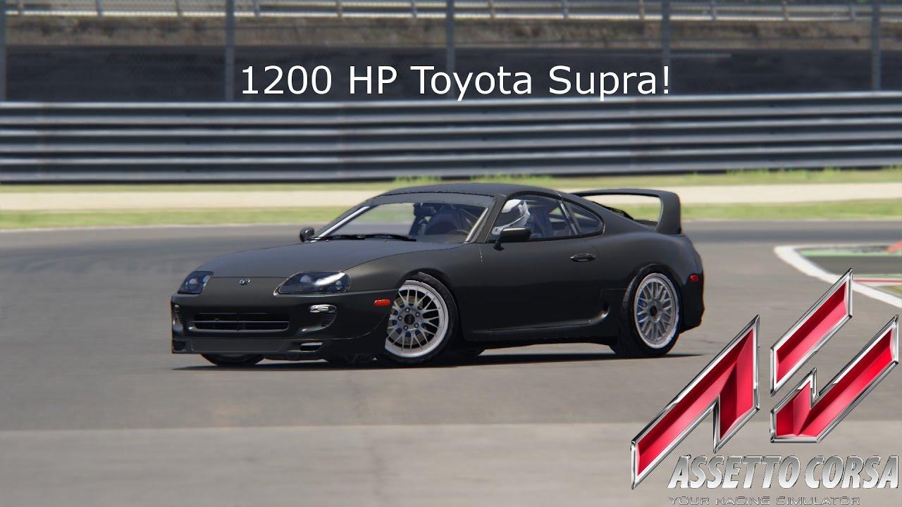1200 Hp Toyota Trd Supra Assetto Corsa Mod Youtube Racing