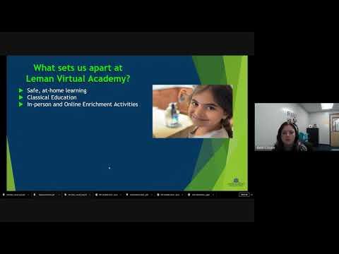 Leman Virtual Academy Middle School Orientation