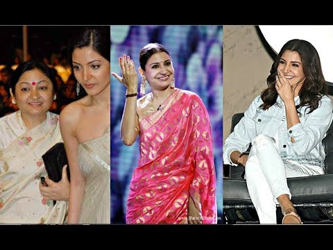 Anushka Sharma Loves Wearing Mom Saree