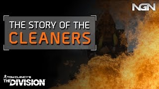 The story of THE CLEANERS || Lore || The Division
