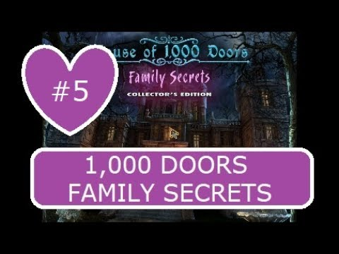 House of a 1,000 Doors Family Secrets Collectors Edition  5/10  