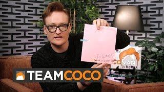 Conan Reads #ConanKorea Fan Mail