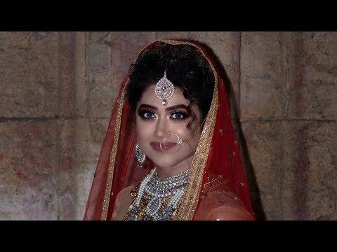 Indian bridal makeup look #Indianbridalmakeup # Nikha makeup