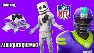 SHOP FORTNITE-TODAY'S STORE 01/02 UPDATED | NEW SKIN MARSHMELLO AMERICAN NFL FOOTBALL SKINS