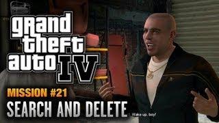 GTA 4 - Mission #21 - Search and Delete (1080p)